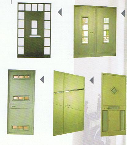 דלתות - עבודות אלומיניום