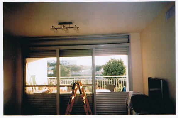 תיקון תריסים חשמליים בדירה פרטית - תריסי ניר