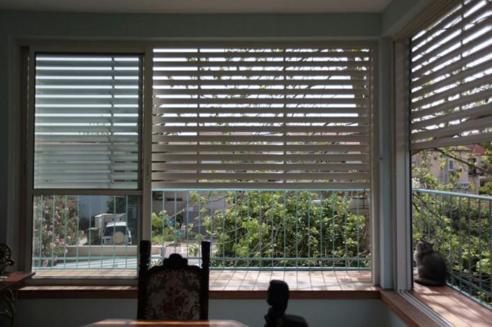 תריס חשמלי, חלונות אלומיניום - תריסי ניר מבט פנימי 7